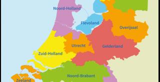 Huiswerk Nederland met provincies
