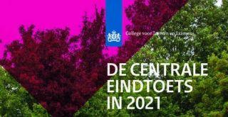 De centrale eindtoets 20 en 21 april