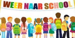 Informatie begin schooljaar